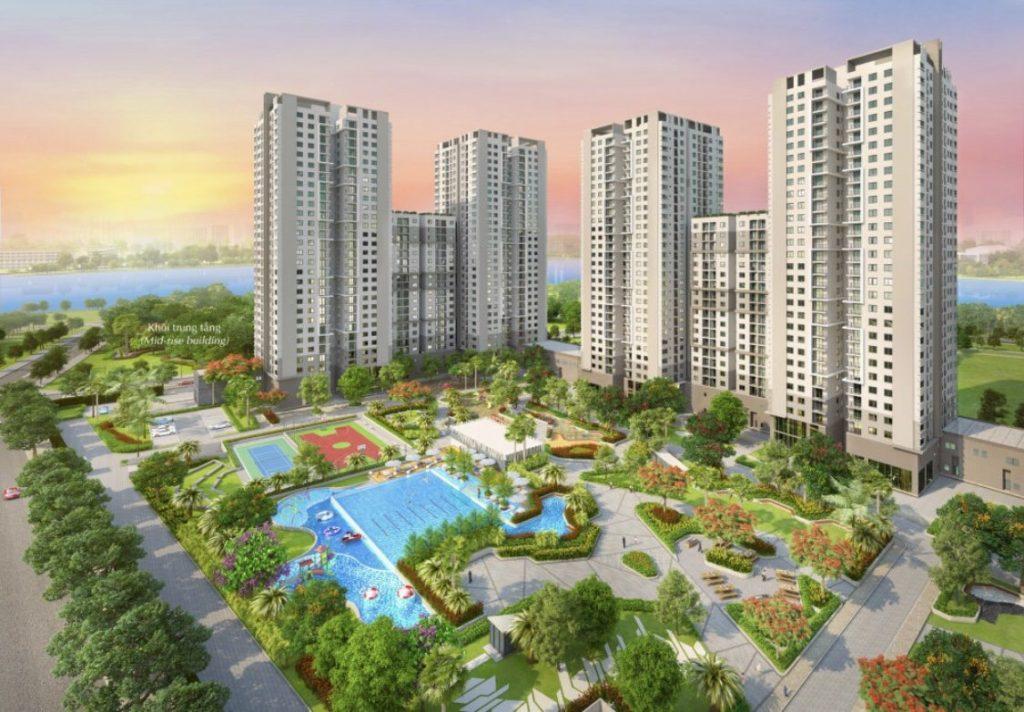 Bán căn hộ Sài Gòn South Residence Phú Mỹ Hưng,giá 2,35ty,dt 75m,view sông,LH 0938 011552