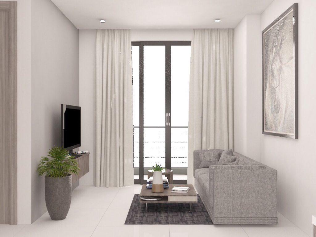 Cho Thuê Căn Hộ DT 62m2-2pn full nội thất giá 10tr tại chung cư THE PARK RESIDENCE LH 0917 870 527