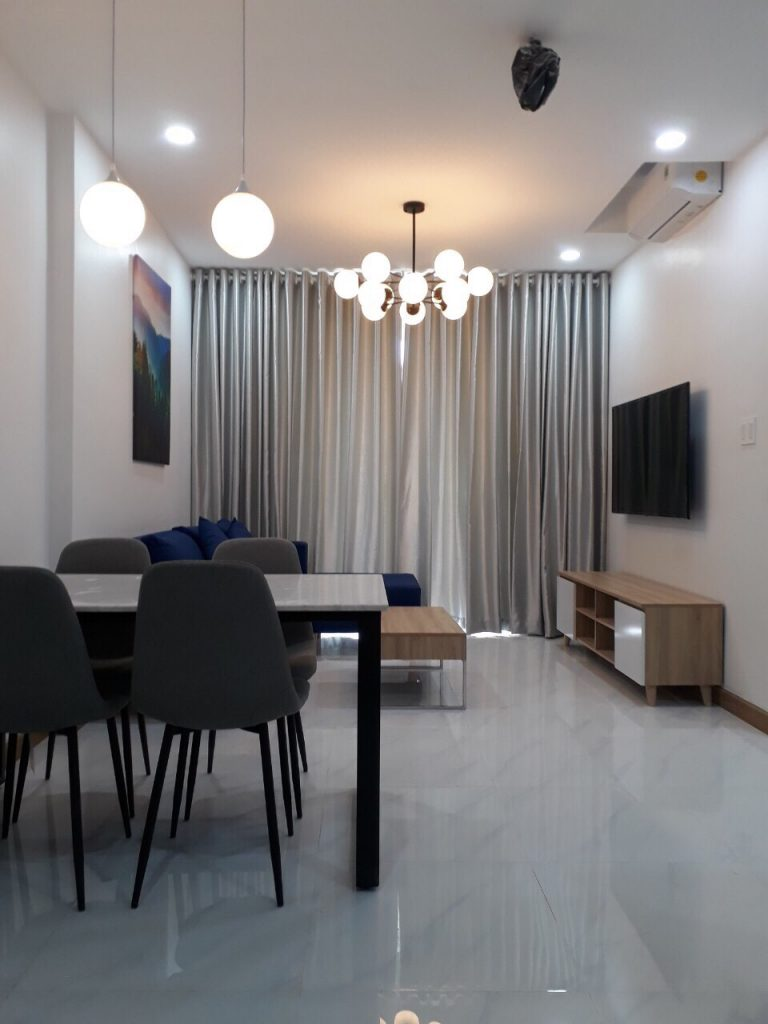 Sunrise Riverside 2 beds for rent with brand new furniture 700$/month. HL 0938 011 552